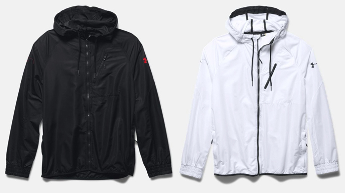 under armour windbreaker jacket
