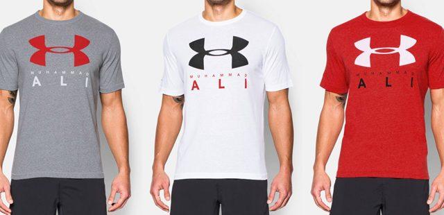 cd5e4bd7 Under Armour x Muhammad Ali Sportstyle T-Shirt