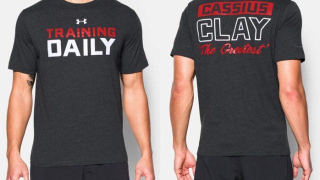 5aad77a5f91b8 Under Armour x Muhammad Ali Training T-Shirt