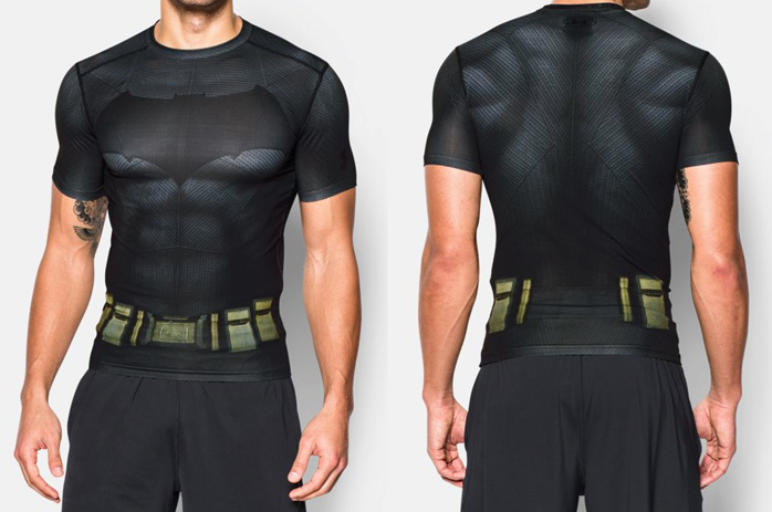 Under Armour Batman vs Superman Alter Ego Shirts and Clothing