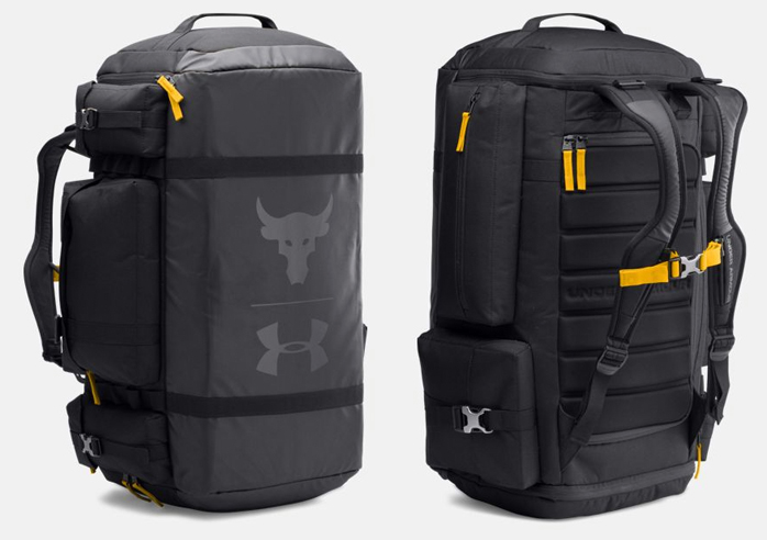 "1b1b0d59f907 Under Armour x The Rock ""Project Rock"" Bags – FighterXFashion.com"