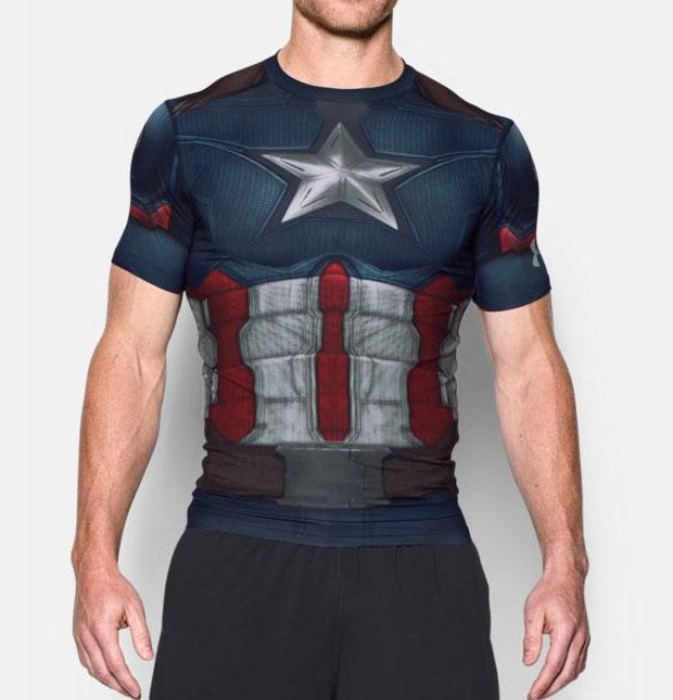 Under Armour Alter Ego Captain America Civil War Clothing