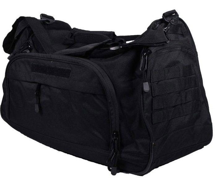 gracie-jiu-jitsu-black-duffle-bag