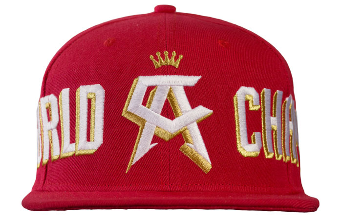 10a0b8ccb59193 Canelo Alvarez Champ Snapback Hat | FighterXFashion.com
