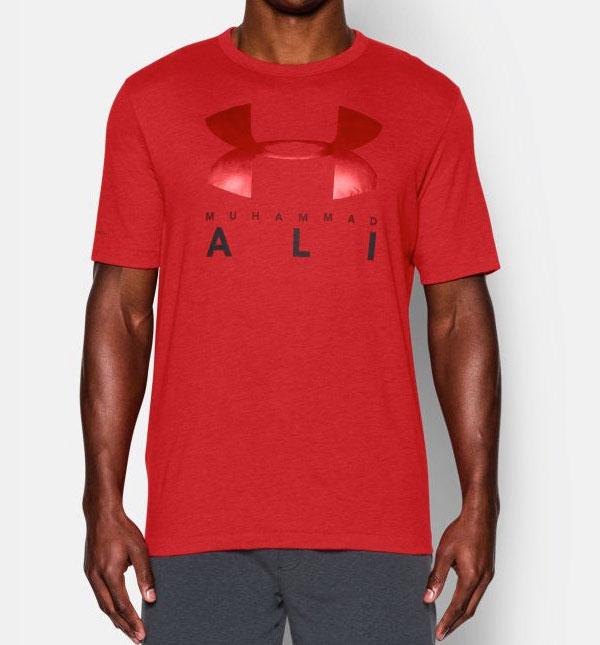 a8d95068 Muhammad Ali Under Armour Sportstyle Shirt | FighterXFashion.com
