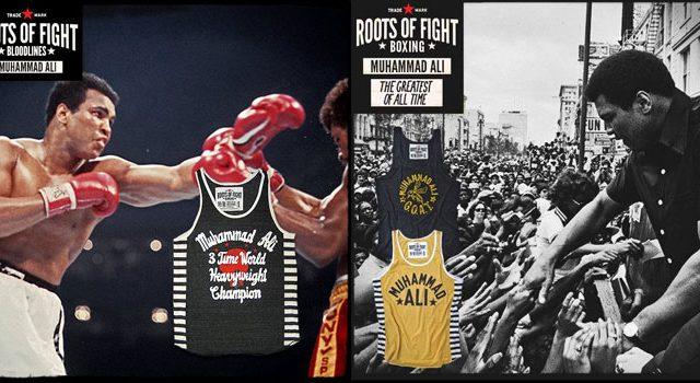 6f873b222f203 New Roots of Fight Muhammad Ali Tank Tops