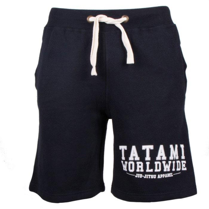 Tatami Worldwide Jiu Jitsu Shorts Black No-Gi BJJ Grappling Training MMA Fight