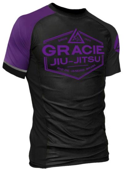 gracie-rank-rashguard-purple