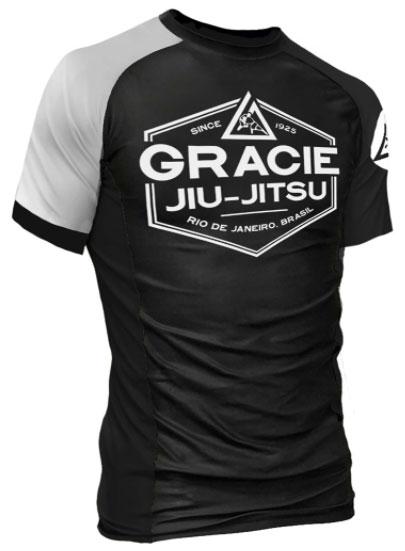 gracie-rank-rashguard-white