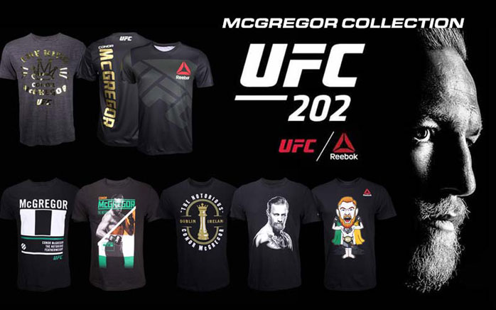 Conor McGregor UFC 202 Shirts Available at MMA Warehouse