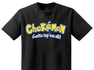 Newaza Apparel Chokemon Shirt