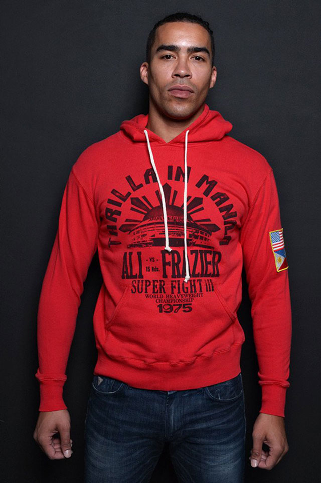 roots of fight thrilla souvenir hoodie. Black Bedroom Furniture Sets. Home Design Ideas