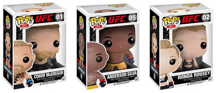 Ufc Pop Vinyl Figures By Funko Fighterxfashion Com