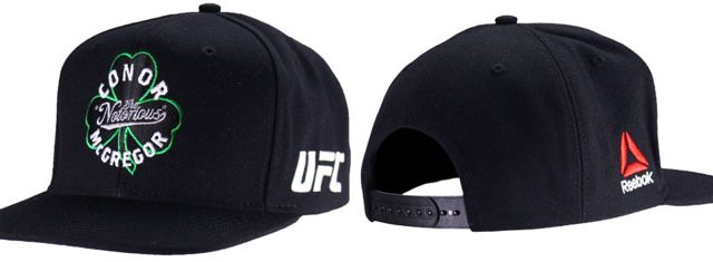 e2c0e865e93 Reebok Conor McGregor UFC Fighter Snapback Hat – FighterXFashion.com