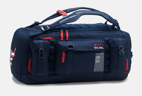 The Rock Under Armour Freedom Duffle Bag 1