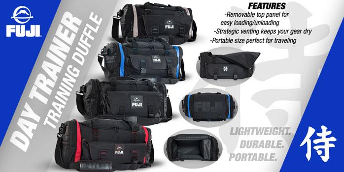 FUJI Day Trainer Gym Bag | FighterXFashion com