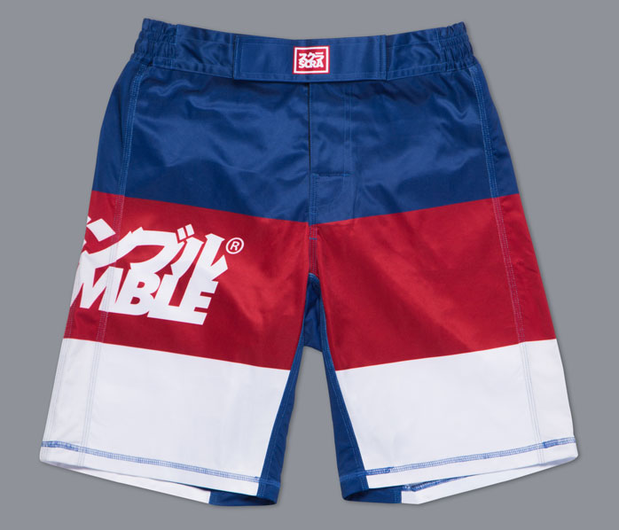 scramble-red-white-blue-fight-shorts-1
