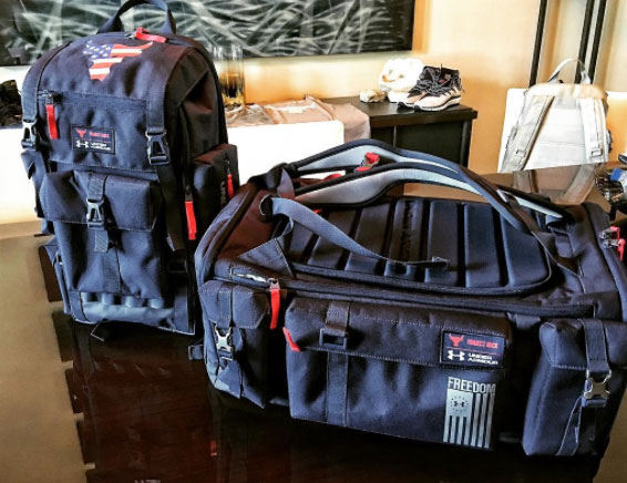 "7e80a9f2ff Under Armour x The Rock ""Project Rock Freedom"" Gym Bag Collection ..."