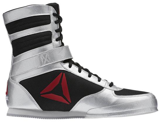 Reebok Boxing Boot Metallic Silver
