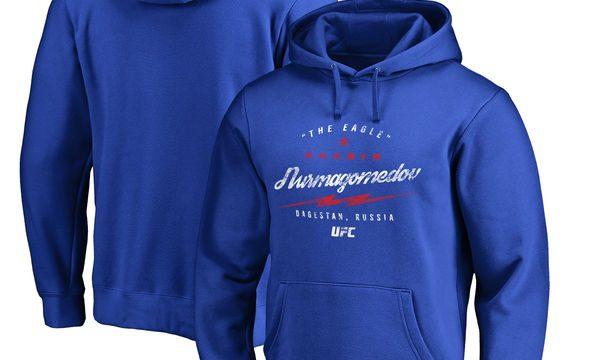 e5cc9f58a0052 Khabib Nurmagomedov UFC Bolt Pullover Hoodie