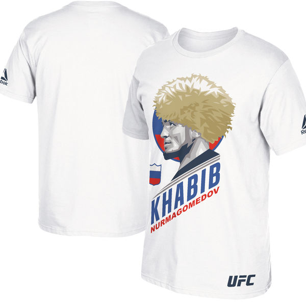 Simetría No hagas primero  Reebok Khabib Nurmagomedov UFC 209 Profile Shirt | FighterXFashion.com