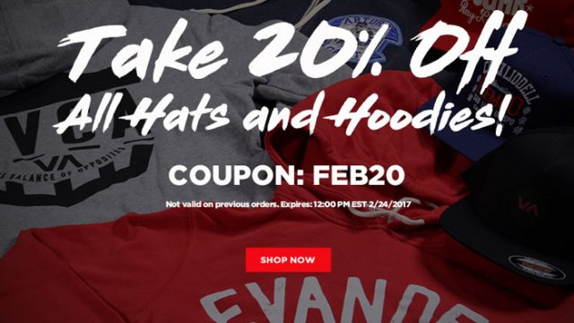 520e34fa7981a Take 20% Off All Hats and Hoodies at MMA Warehouse for a Limited Time