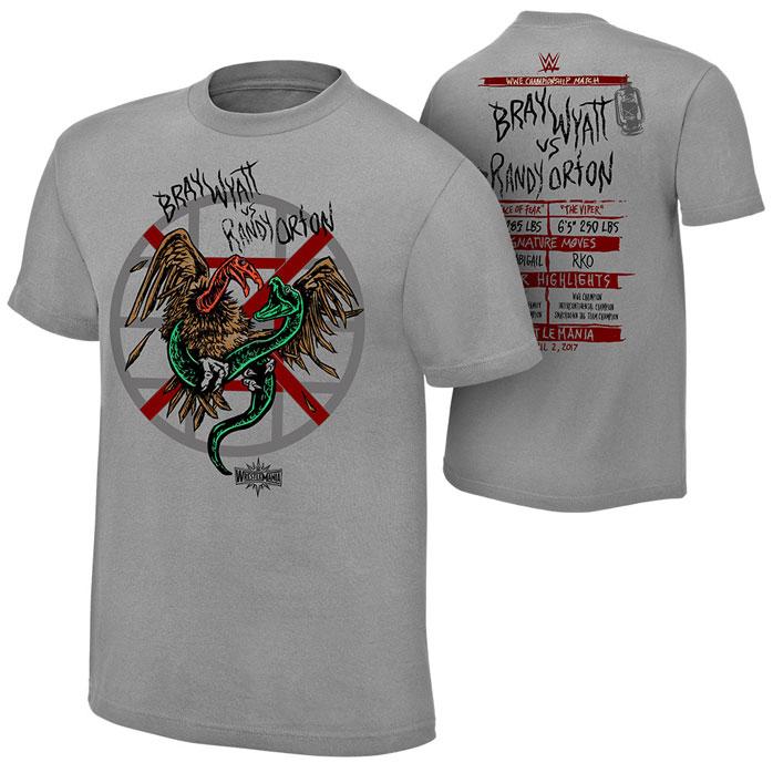 WrestleMania 33 Match Shirts