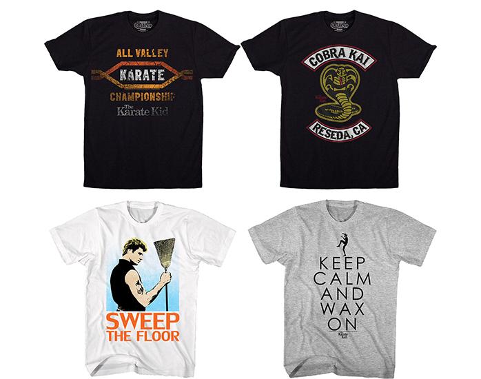 Cobra Kai Shirt: Karate Kid & Cobra Kai T-Shirts From 80sTees