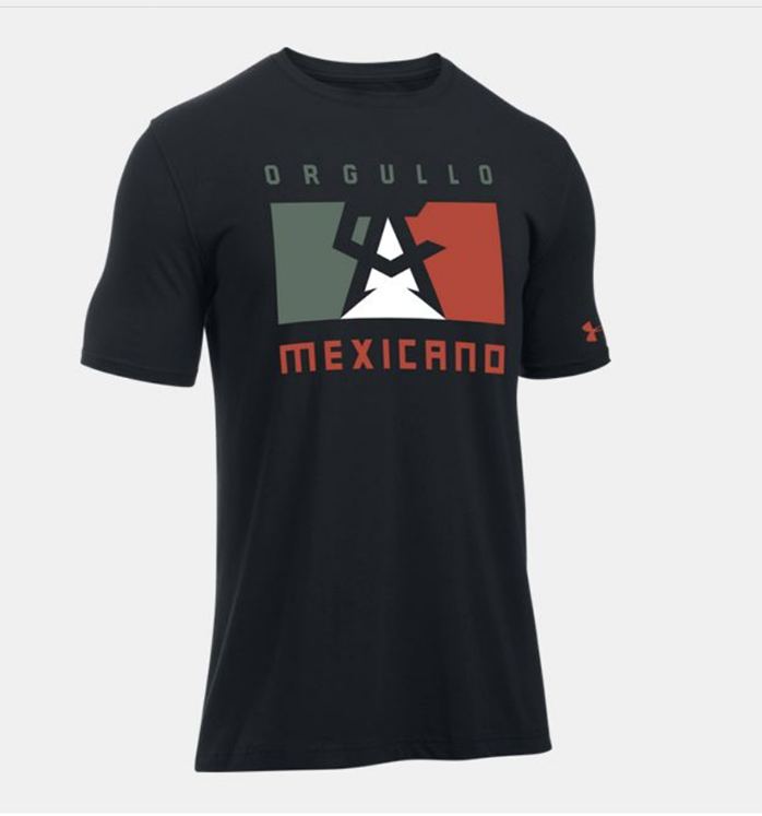 Under armour canelo mexicano shirt for 2017 mexican heritage night t shirt