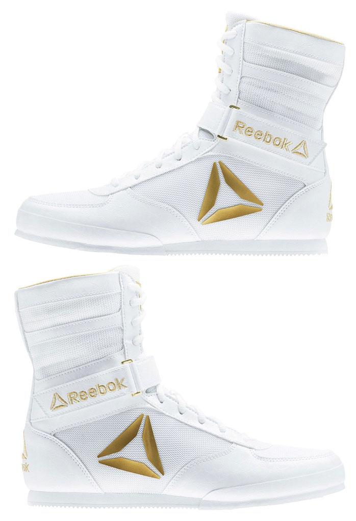 reebok boxing boots. reebok-boxing-boot-white-gold-2 reebok boxing boots