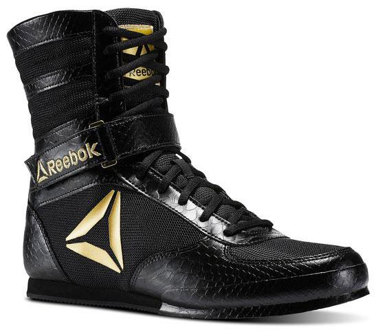 Reebok Boxing Boot Black Gold