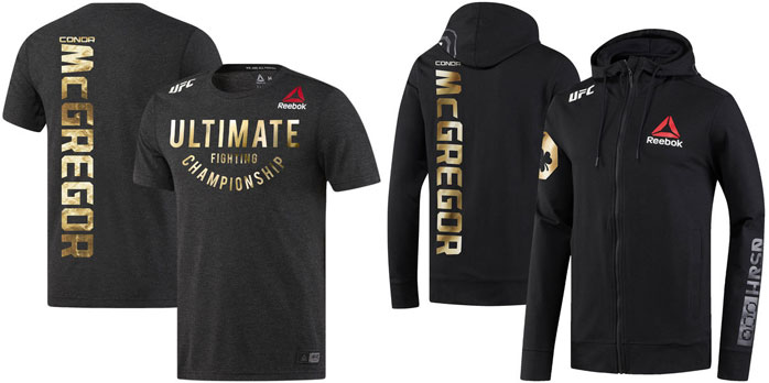 Conor Mcgregor Reebok Ufc Franchise Fighter Walkout Gear