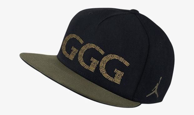 "9d90dc283c7b4 Jordan ""GGG"" Snapback Hats – FighterXFashion.com"