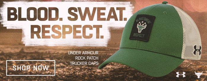 Under Armour Rock Patch Trucker Caps Fighterxfashion Com
