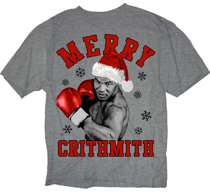 Mike Tyson Merry Christmas.Mike Tyson Merry Crithmith Christmas Shirt Fighterxfashion Com