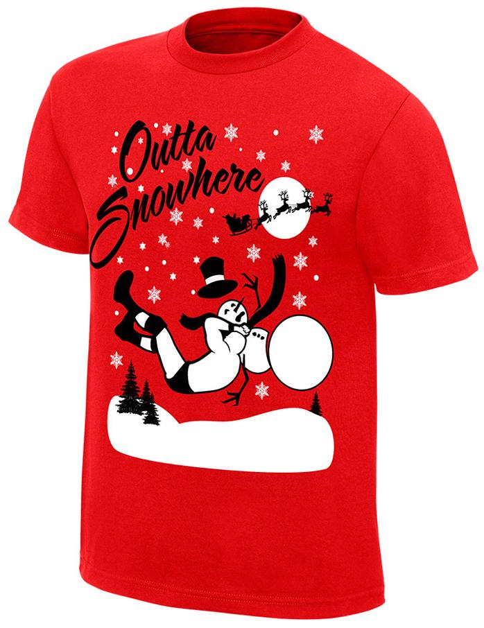 WWE Holiday Christmas Shirts