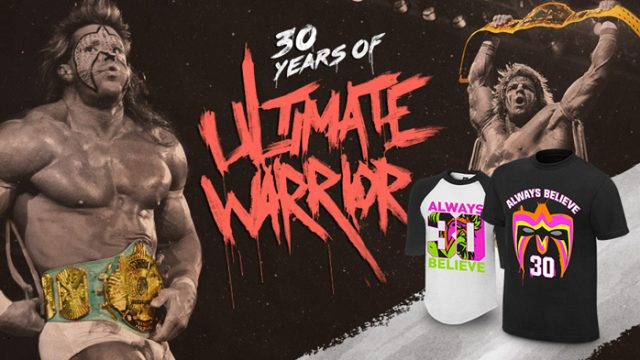 "WWE Ultimate Warrior ""30 Years"" Shirts – FighterXFashion.com"