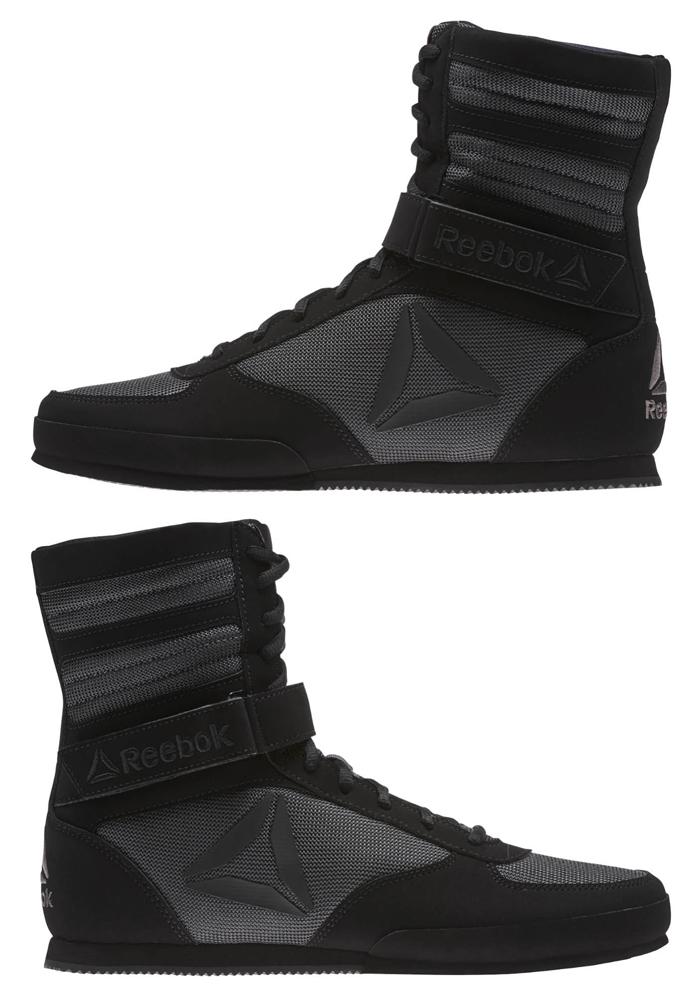 Reebok Boxing Boot Black Ash Grey