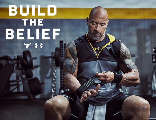 The Rock Under Armour Chase Greatness Clothing Shirts And