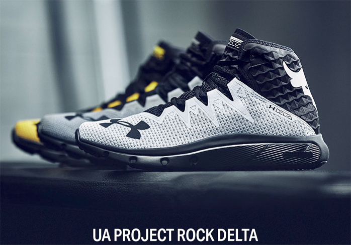 The Rock Under Armour Training Shoe