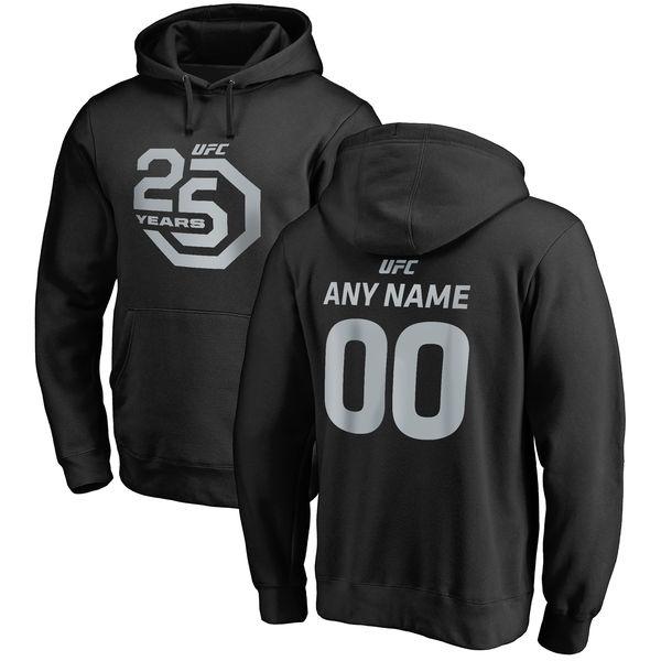 ufc 25th anniversary customizable name number shirts