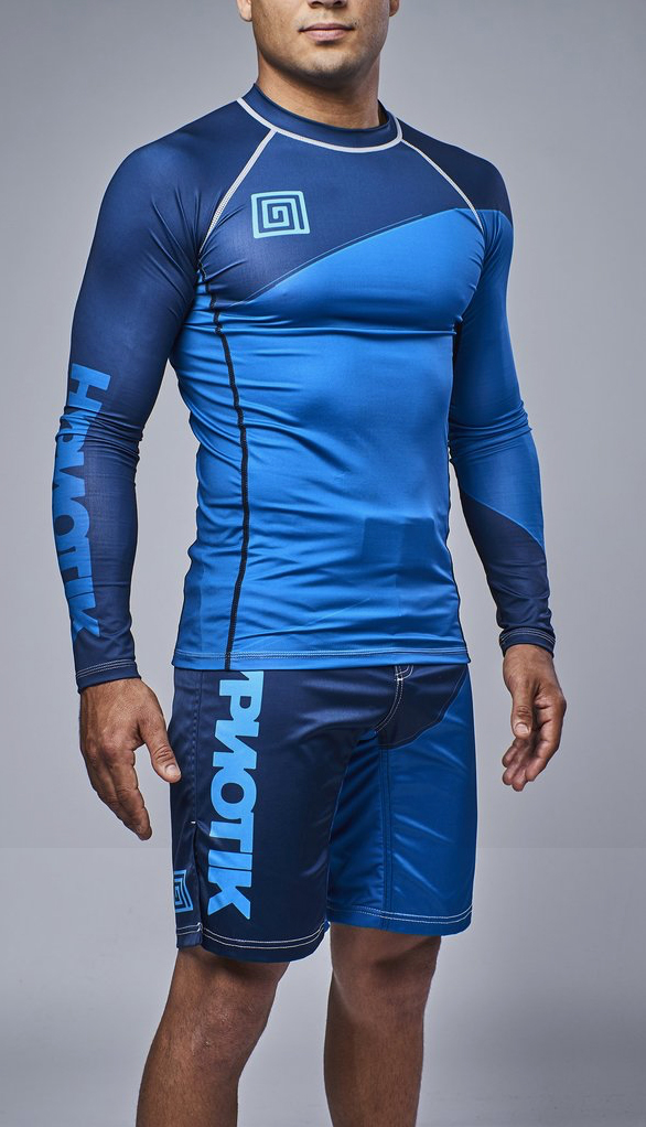 Hypnotik Block Long Sleeve Rashguards Fighterxfashion Com