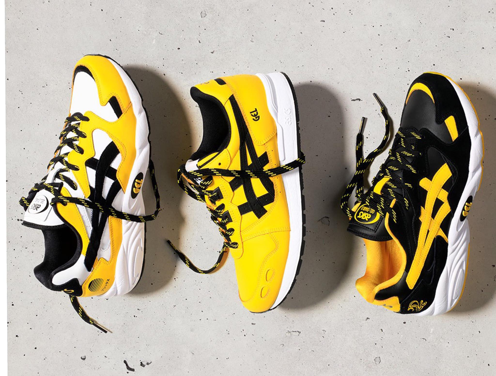quality design 1ba55 313fd Asics Tiger Welcome to the Dojo Shoes and Clothing Inspired ...