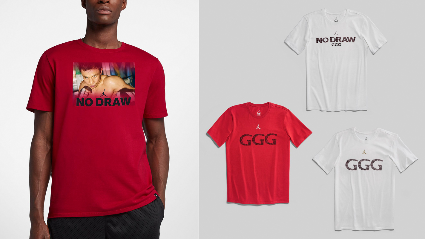8ccea866dd1 Jordan x GGG Tees for Golovkin vs. Canelo 2 – FighterXFashion.com