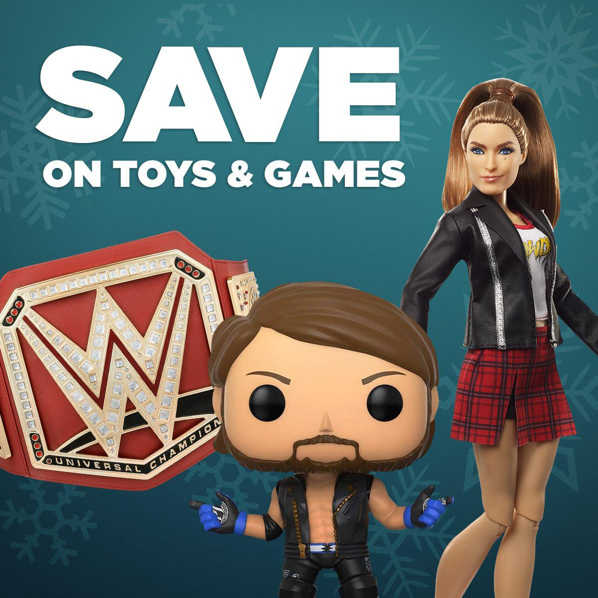 cyber monday 2018 sale at wwe shop up to 75 off tees titles memorabilia more an extra. Black Bedroom Furniture Sets. Home Design Ideas