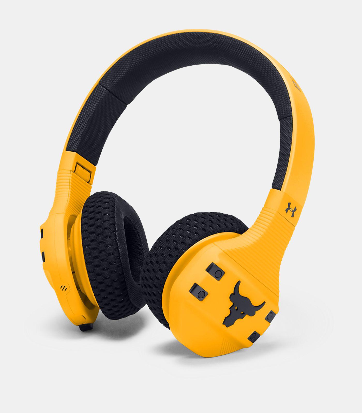 project rock in ear headphones