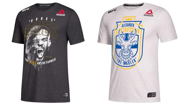 0ed36081b3a987 UFC 232  Jones vs. Gustafsson 2 Reebok Legacy Series Walkout Jerseys