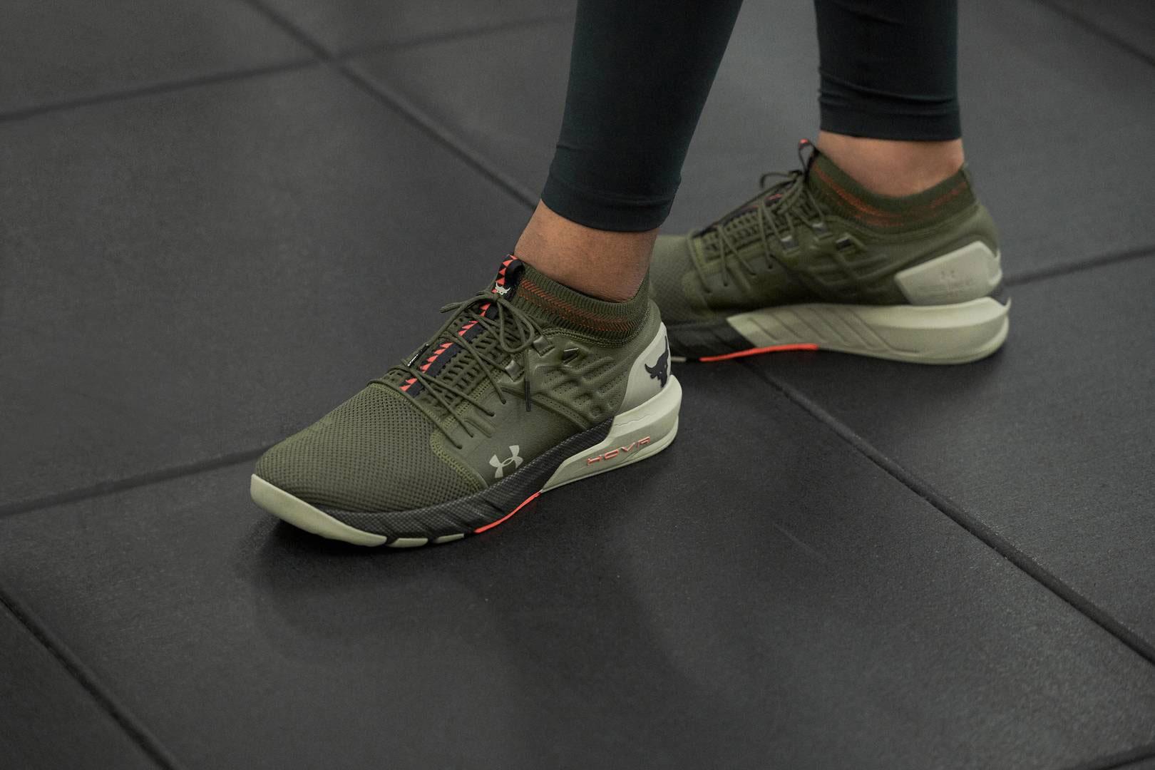 Project Rock 2 Shoe in Guardian Green